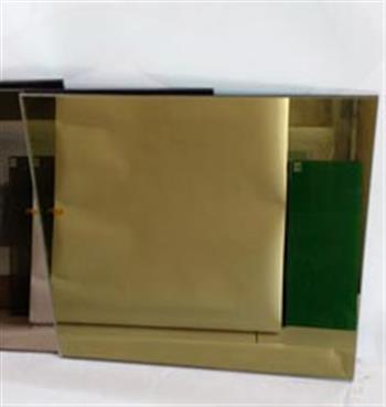 办公室水晶黄拼镜