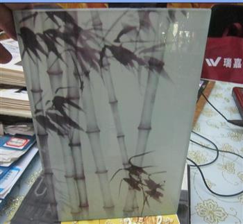 竹子夹胶玻璃