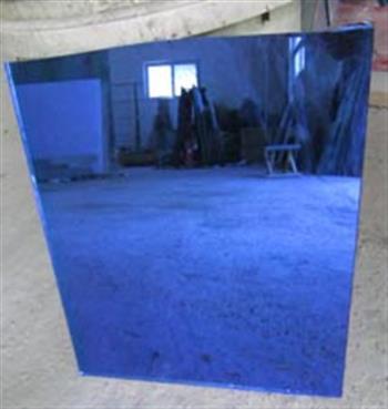彩蓝透明玻璃