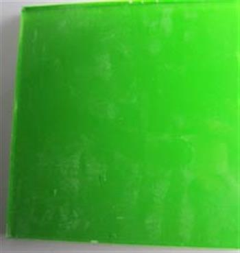 果绿不透明夹胶玻璃