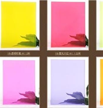 彩色夹胶玻璃
