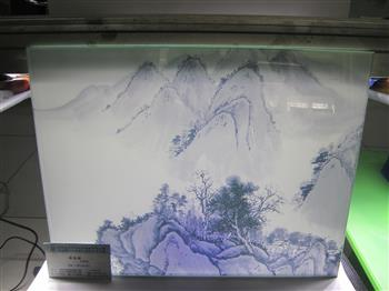 工艺玻璃画