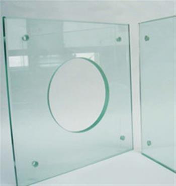 钢化玻璃打孔